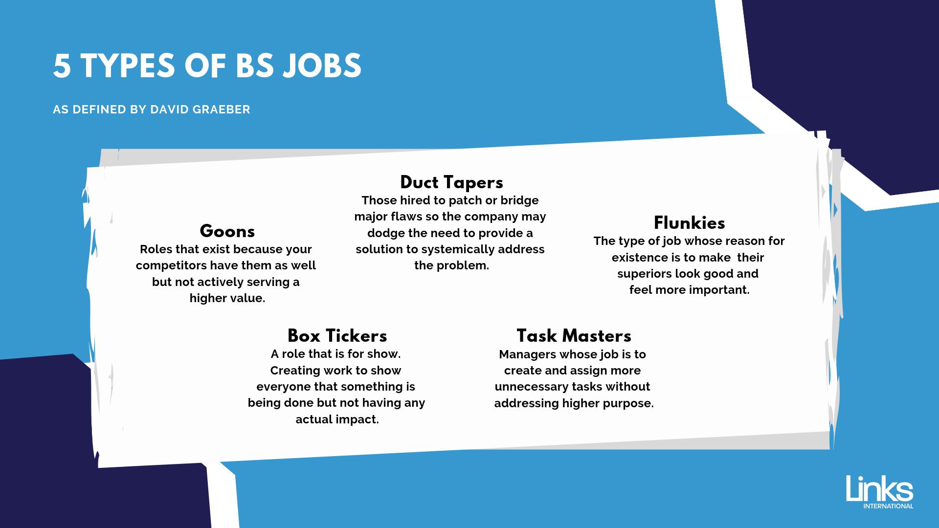 5 Types of Bullshit Jobs_ David Graeber