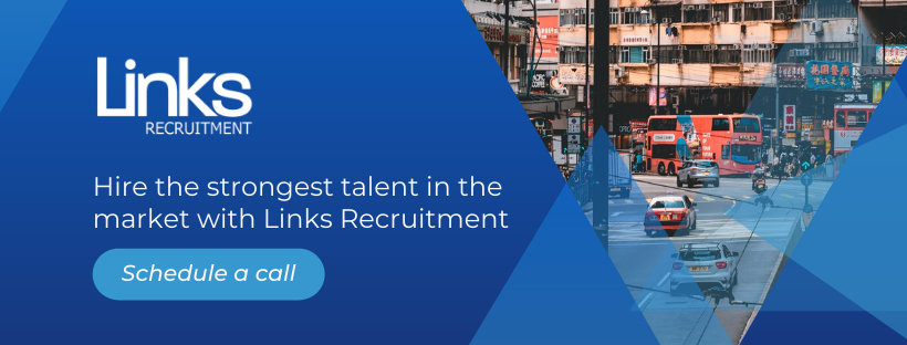 Hire the strongest talent in the market with Links Recruitment. Schedule a call!