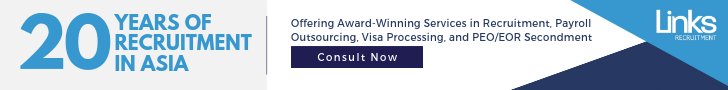 Links International offers award-winning services in recruitment, payroll outsourcing, visa processing, and PEO/EOR Secondment in Asia.