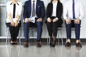 Job Applicants Waiting