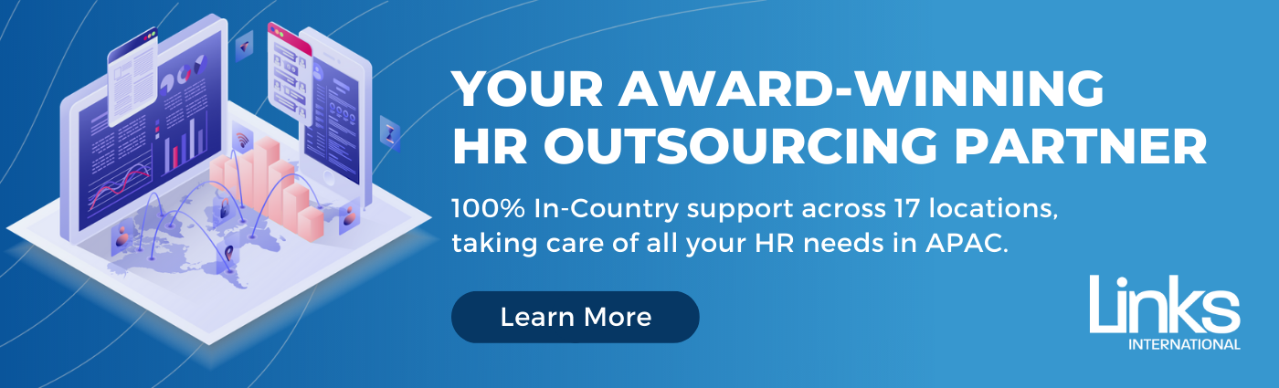 Links International Award Winning HR Outsourcing Services Banner