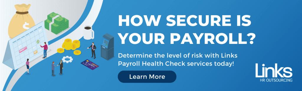 Links Payroll Health Check Service Banner